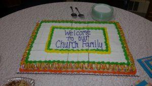 New Member Cake 2015